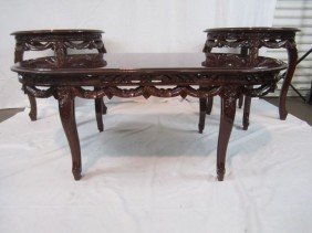 C11-11  COFFEE TABLE & TWO END TABLES