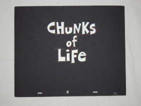 CHUNKS OF LIFE CONCEPT ART & PROPS 1995 TV
