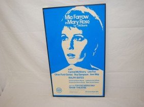 MIA FARROW IN MARY ROSE BY J.M. BARRIE POSTER