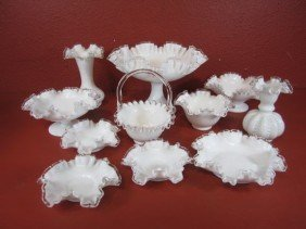 G20-2  LOT OF 11 GLASS ITEMS