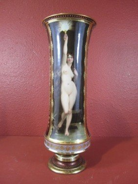 A11-57  ROYAL VIENNA VASE