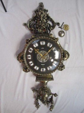 A11-74  TIFFANY & CO WALL CLOCK