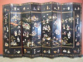 A11-40  LARGE 8 PANEL SCREEN