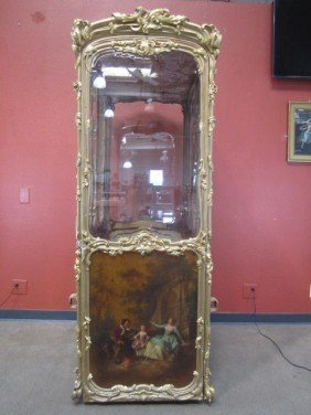 A11-160  ANTIQUE VERNI MARTIN FRENCH SEDAN CHAIR