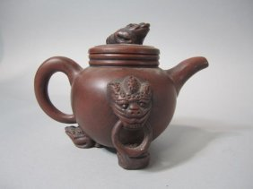 "H28-7  CHINESE ""YIXING"" STYLE TEA POT"