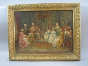 A83-12  OIL PAINTING SIGNED F. CORNEAU