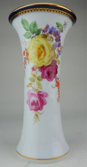 19th Century Meissen Porcelain Vase