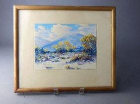 "California Plein Air Watercolor "" Paul Conner"""