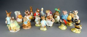 Vintage Beatrix Potter Animal Figurines
