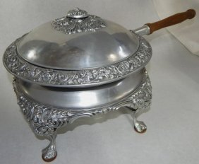 Large Bruce Fox Design Modern Chafing Dish