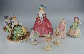 Royal Doulton, German & Occupied Japan Figurines