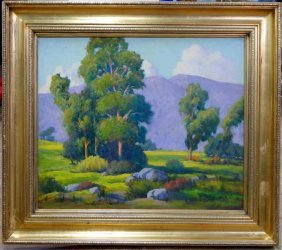 William Hamilton Jr. Plein Aire Oil Painting