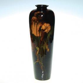 Weller Aurelian 13� Vase, Dandelions, Lybarger