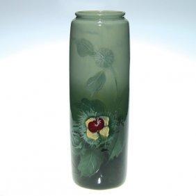 Weller Eocean 14� Vase, Chestnuts