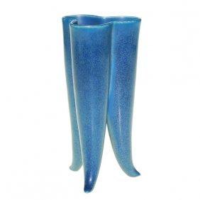 Rookwood �Molar� Vase In Mat Blue, 1922, 2764 F