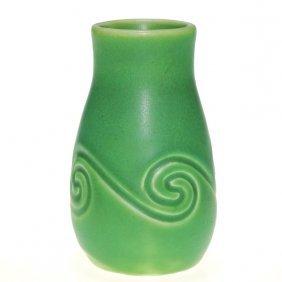 Rookwood Mat Green �Z Glaze� 4 3/8� Vase, 1904