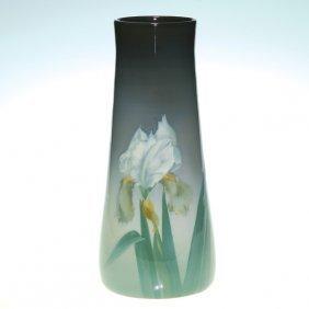 Stunning Rookwood Iris Vase, Irises, Diers, 1909