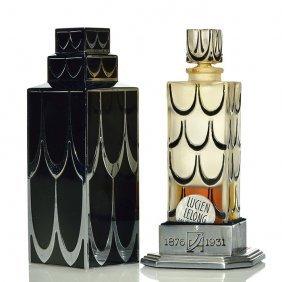 "R.lalique Lucien Lelong Skyscraper Perfume, 4 1/2"""