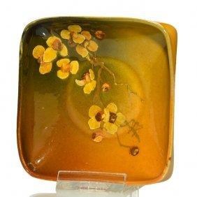 Rookwood Standard Tray, Floral, Lnl,'93, 1 X 4