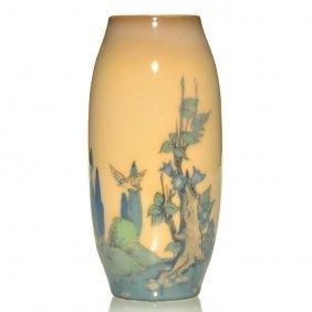 "Rookwood Porcelain Scenic, Conant, 1920, 6 3/4"""