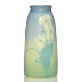 "Rookwood Vellum Vase, Mcdonald, 1914, 6 1/2"""