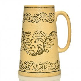 Rookwood Tankard, Incised Garlands, Cranch, 8 3/8""