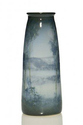 "Fine Rookwood Iris Scenic, Shiri, 8 7/8"", 1909"
