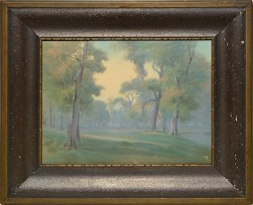 Rookwood Vellum Plaque,rothenbusch,9 1/4x12 3/8""