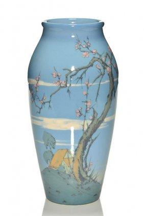 "Rare Rookwood Porcelain 10 1/2"" Scenic, Conant"