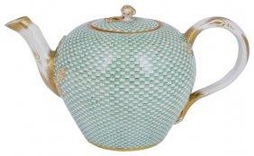 A Meissen Teapot And Cover, Marcolini Period, Circa