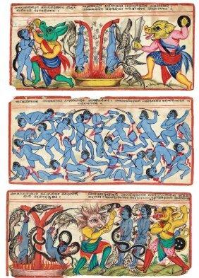 Twenty-one Jain Folios, Rajasthan, Western India,