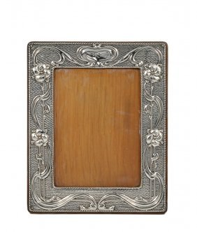 An Edwardian Silver-mounted Photograph Frame, William