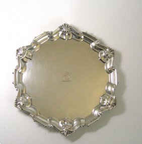 Two Edward Vii Silver Salvers, William Hutton & Sons