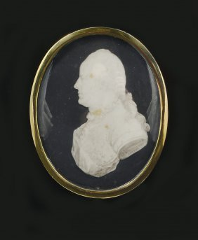 ˜a Grisaille Profile Of Archibald Campbell, By Samuel