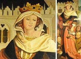 """Saint Elizabeth In The Feeding Of The Poor"" Fine, Oil"