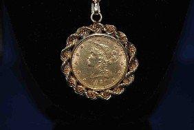 1881 Gold Coin