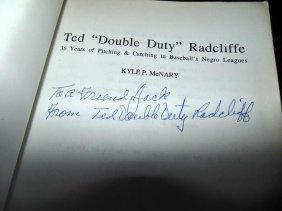 Negro League's Ted Double Duty Radcliffe