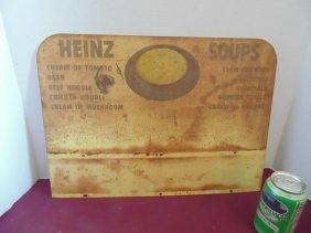 Heinz Soup Advertising Tin Sign