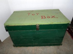 Wood Toy Box