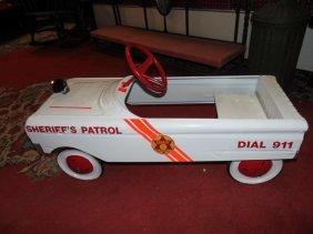 Police Car Pedal Car
