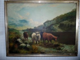 Horatio Mcculloch Painting