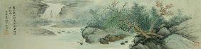 Watercolour On Paper Wu Hufan 1894-1968