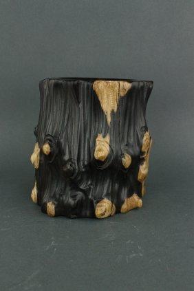 Chinese Fine Zitan Brush Pot