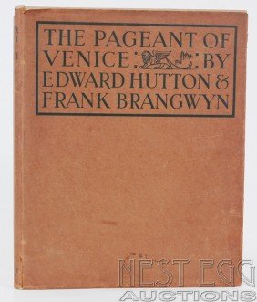 The Pageant Of Venice. Hutton & Brangwyn