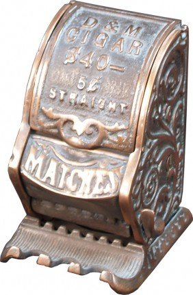 Vintage Countertop Or Wall Mount Cast-Iron D&M Cig