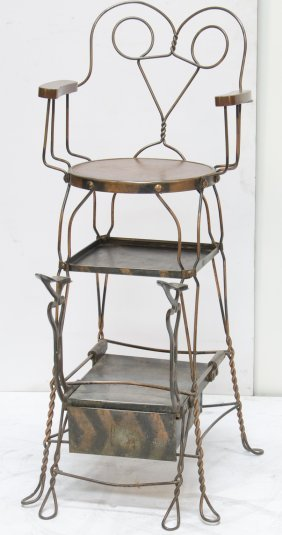 Early Twisted Metal Single Shoe-Shine Station