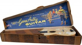 Lot Of 2 Western Toy Guitars In Original Boxes: