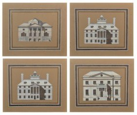 Group Of  Architectural Prints