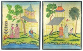Eleven Asian Decorative Pictures