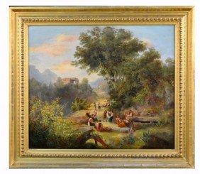 E. Finternogot, 1856  Roman Peasants
